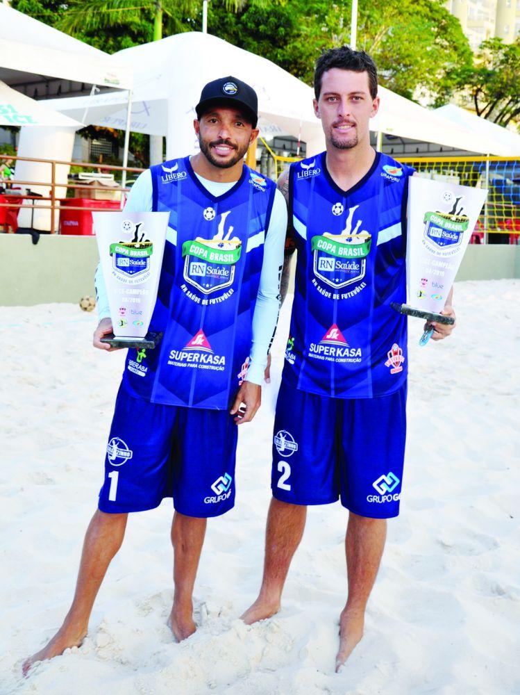 Aguia e Lalazinho - vice-campeões Profissional