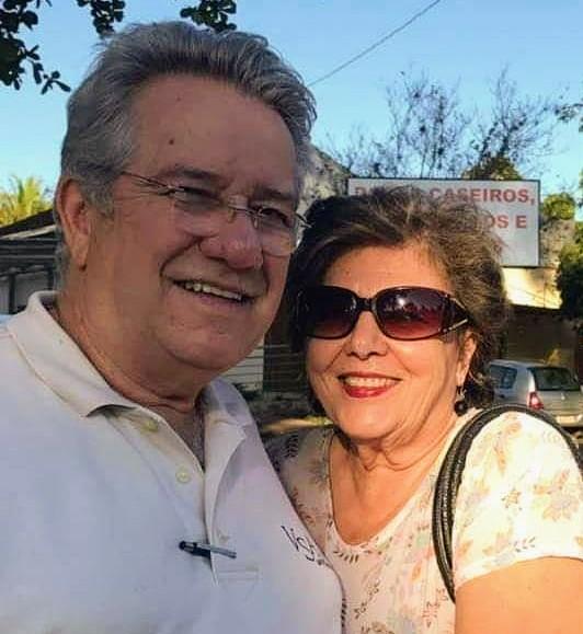 """Flávio Rodrigues da Cunha e Ana Rita Mascarenhas comemoraram no último sábado, 2 de maio suas """"Bodas de Ouro"""" e 50 anos de uma solida união"""