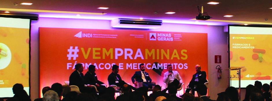 """Indi realizou, na semana passada, o evento """"#Vempraminas - Fármacos e Medicamentos"""""""