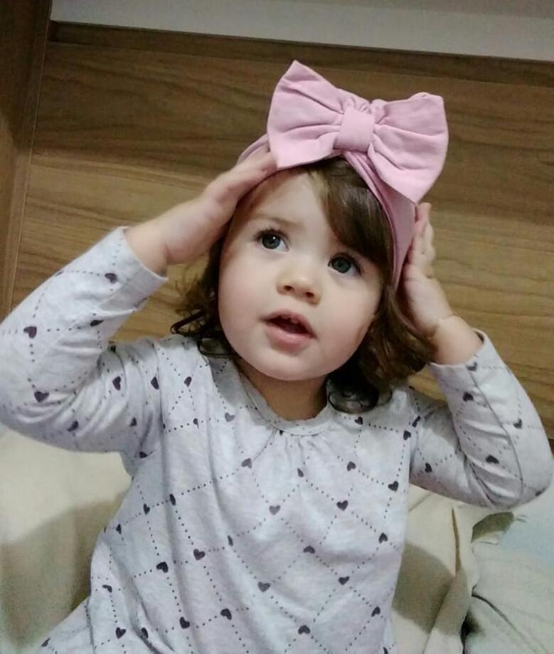 A Pequena Maria Luiza Souza Ferreira, enfeita a nossa coluna de hoje!
