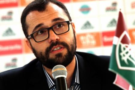 O presidente do Flu, Mário Bittencourt (foto), define prazo para Fred acertar com o Fluminense - Foto: Divulgação
