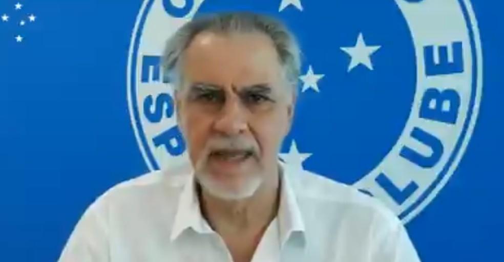 Gustavo Gatti, membro do Conselho Gestor do Cruzeiro - Foto: Reprodução