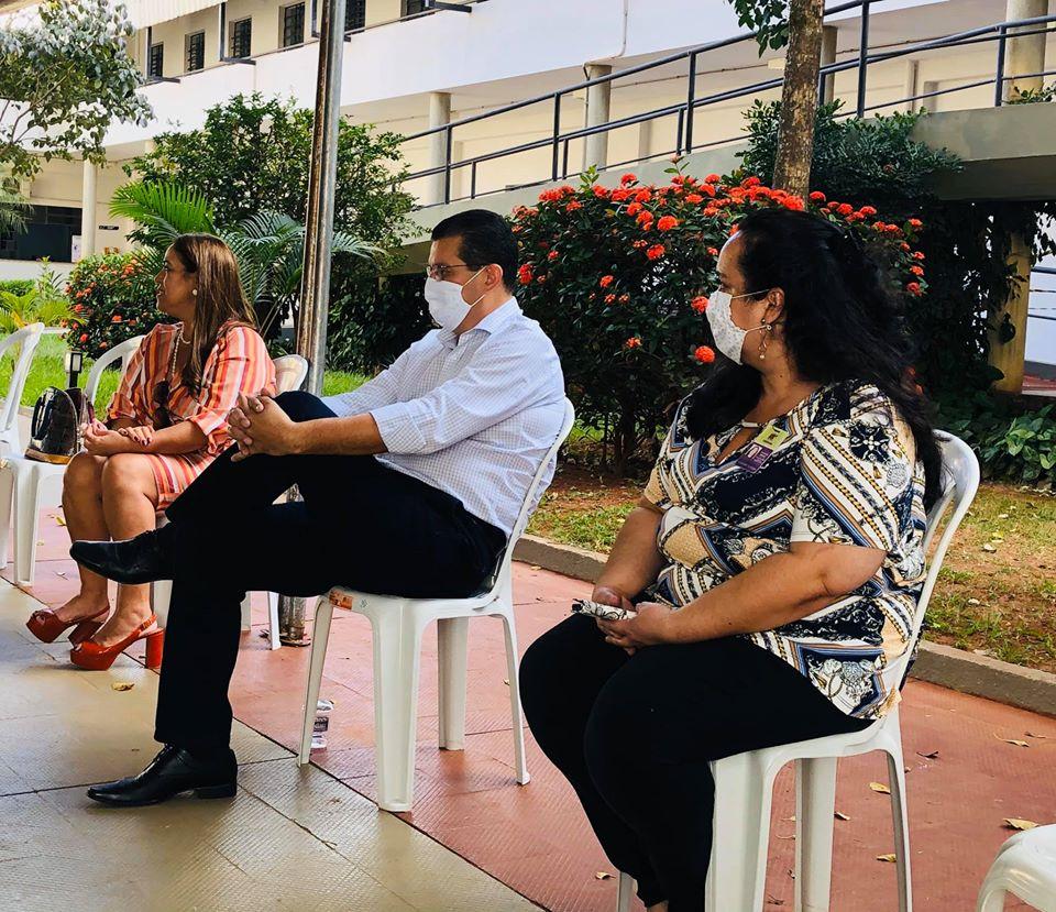 Vereador Samuel Pereira apresenta demandas que irão beneficiar profissionais que trabalham com o transporte escolar - Foto: Divulgação
