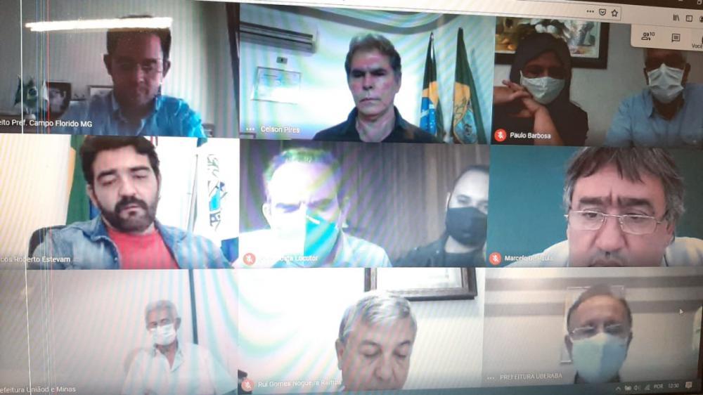 Prefeitos da área de abrangência do Cistrusul participam de videoconferência e discutem enfrentamento do coronavírus - Foto: Divulgação