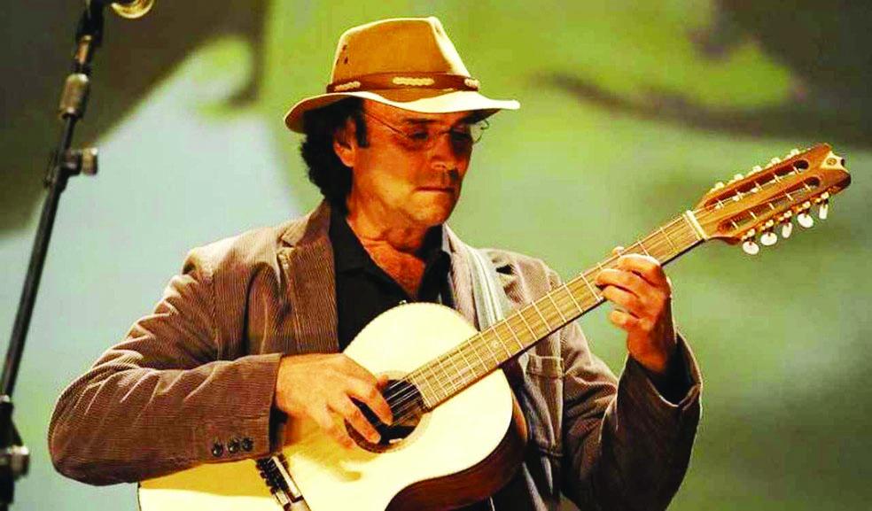 Músico Almir Sater se apresenta neste sábado, no Romma Super Club