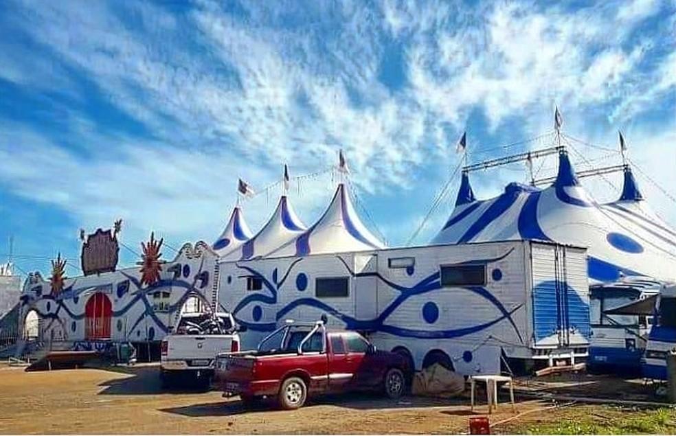 Circo Khronos fará apresentações drive in a partir de hoje - Foto: Divulgação