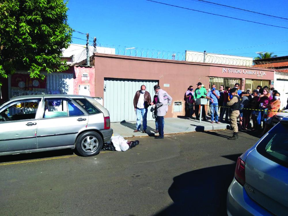 Mário foi morto a tiros em via pública - Foto: Juliano Carlos