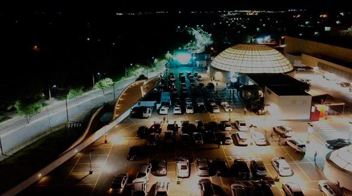Drive in Festival, organizado pelo Praça Uberaba caiu no gosto dos uberabenses - Foto: Divulgação/ Praça Uberaba