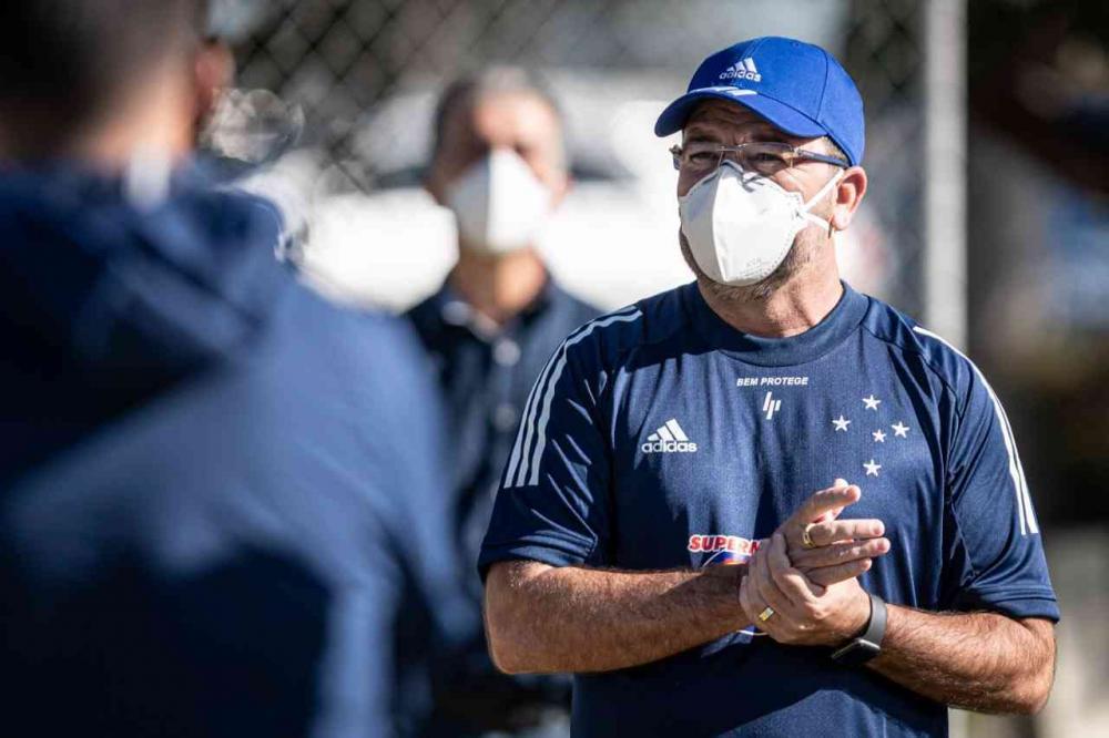 Cruzeiro treina sob o comando de Enderson Moreira - Foto: Divulgação