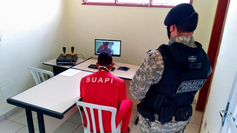 Parceria entre governo e Tribunal de Justiça e aquisição de equipamentos possibilitam trabalho durante a pandemia - Foto: Divulgação/Sejusp