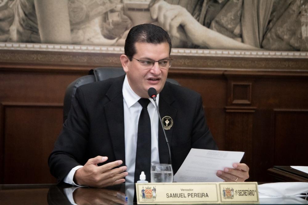 Pressão da comunidade evangélica pode colocar Samuel Pereira como candidato a prefeito - Foto: Rodrigo Garcia/CMU