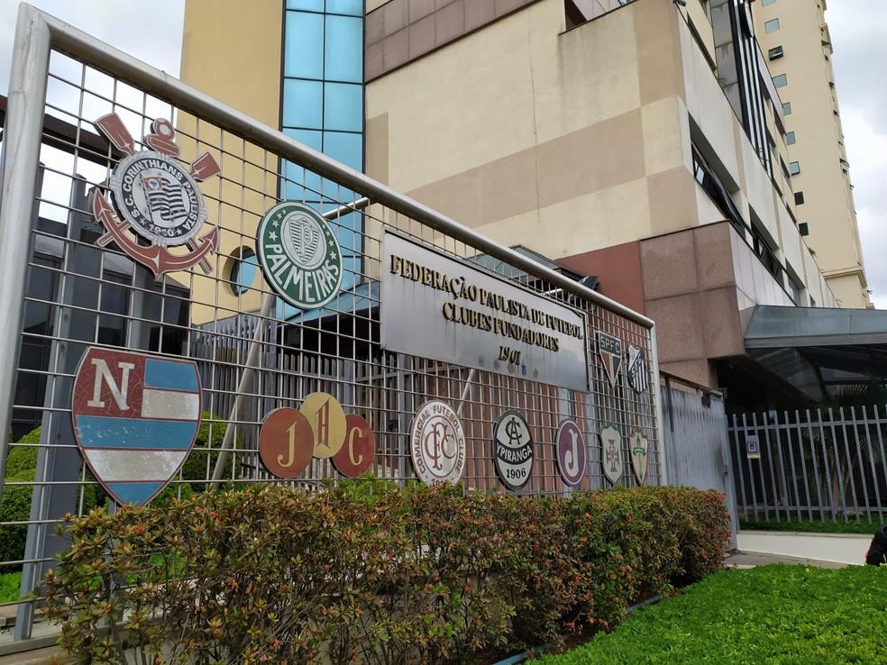 Sede da Federação Paulista de Futebol - Foto: Emilio Botta