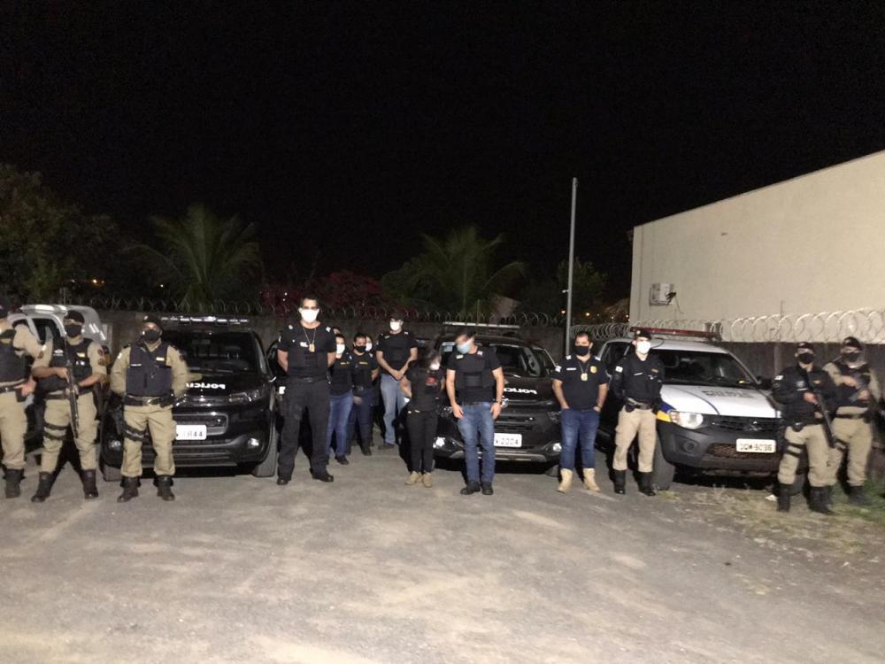 Mandados de prisão foram cumpridos na manhã de ontem - Foto: Divulgação