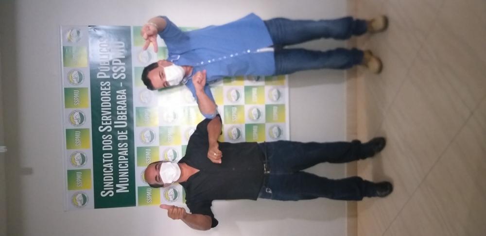 Luís Carlos deixa a presidência do SSPMU e Carlos Humberto assume - Foto: Divulgação/SSPMU