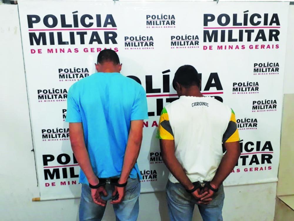 Suspeitos foram presos após serem denunciados