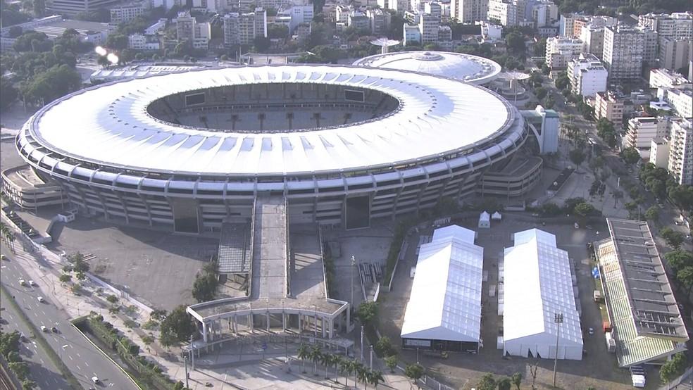 Maracanã está liberado para jogos, mas sem público - Foto: Reprodução/TV Globo