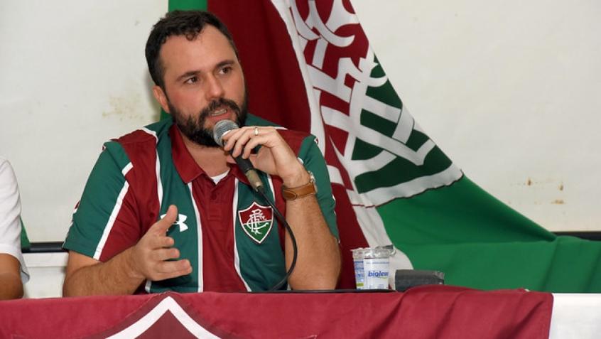 Presidente do Flu, Mário Bittencourt via à Justiça para remarcar os jogos do Tricolor - Foto: Divulgação