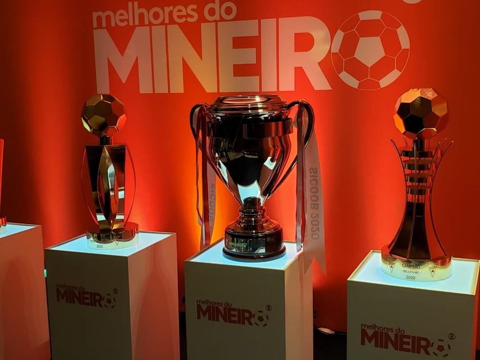 Taças que serão distribuídas no Mineiro Módulo I 2020 - Foto: Frederico Ribeiro