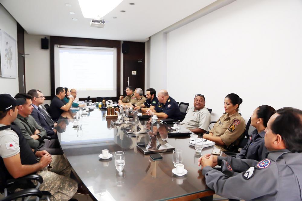 Órgãos da Segurança Pública estiveram reunidos para traçarem estratégias para o desfile do 7 de Setembro