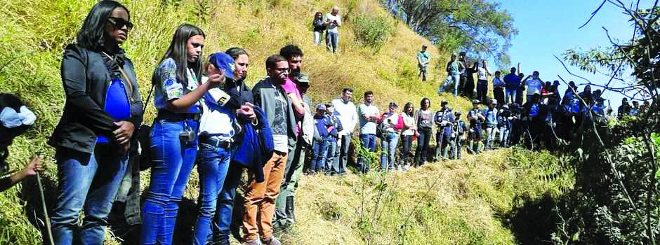 As nascentes estão localizadas numa área de 9,44 hectares e será totalmente restaurada pelo Instituto Estadual de Florestas