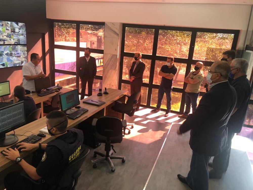 O projeto Cidade Vigiada ainda está passando por ajustes, porém, esta semana avança com vistas a operar com toda sua capacidade - Foto: Divulgação/PMU