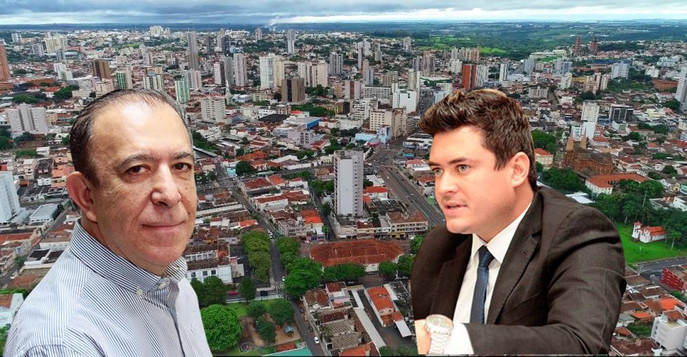 Deputado Heli Andrade começa a polarizar a sucessão municipal com o vereador Thiago Mariscal - FOTOS: Divulgação