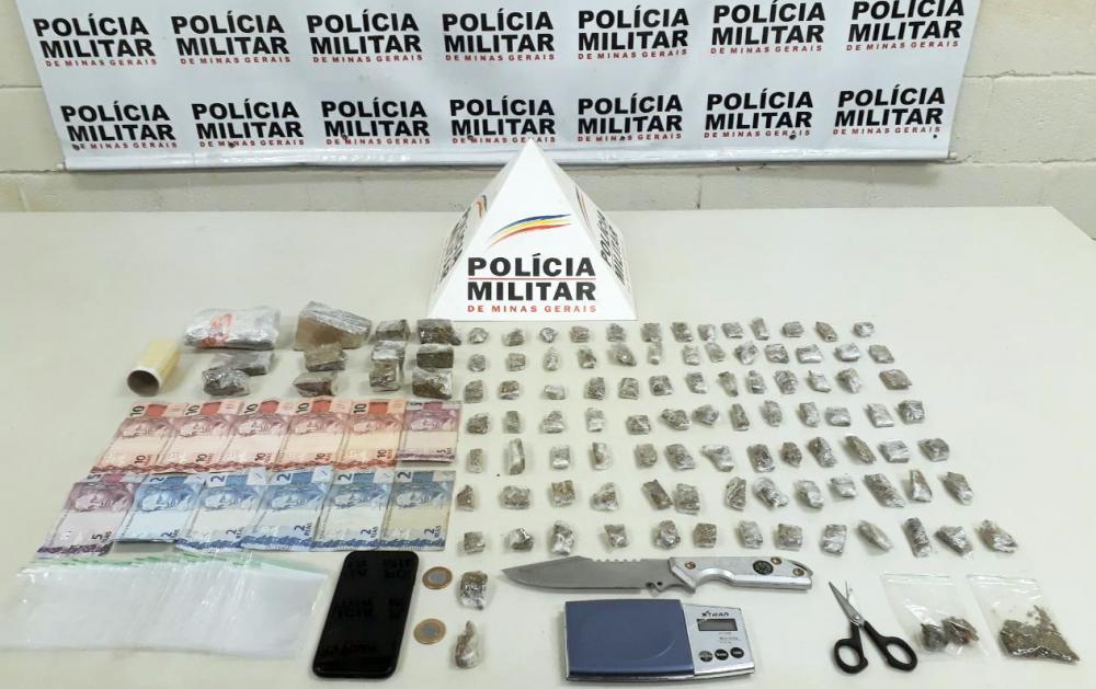 Entorpecentes foram encontrados na casa do acusado - Foto: Juliano Carlos