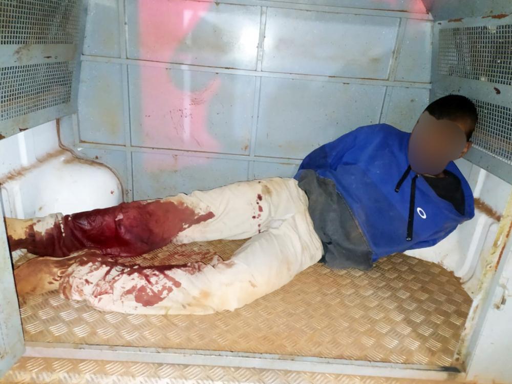 Acusados foram capturados por cão da Rocca: Arma e colete a prova de balas foram apreendidos - Fotos: Juliano Carlos