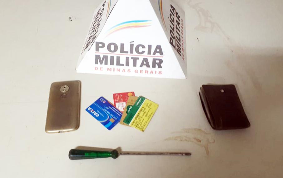 Chave de fenda usada no crime foi apreendida pela PM - Foto: Juliano Carlos