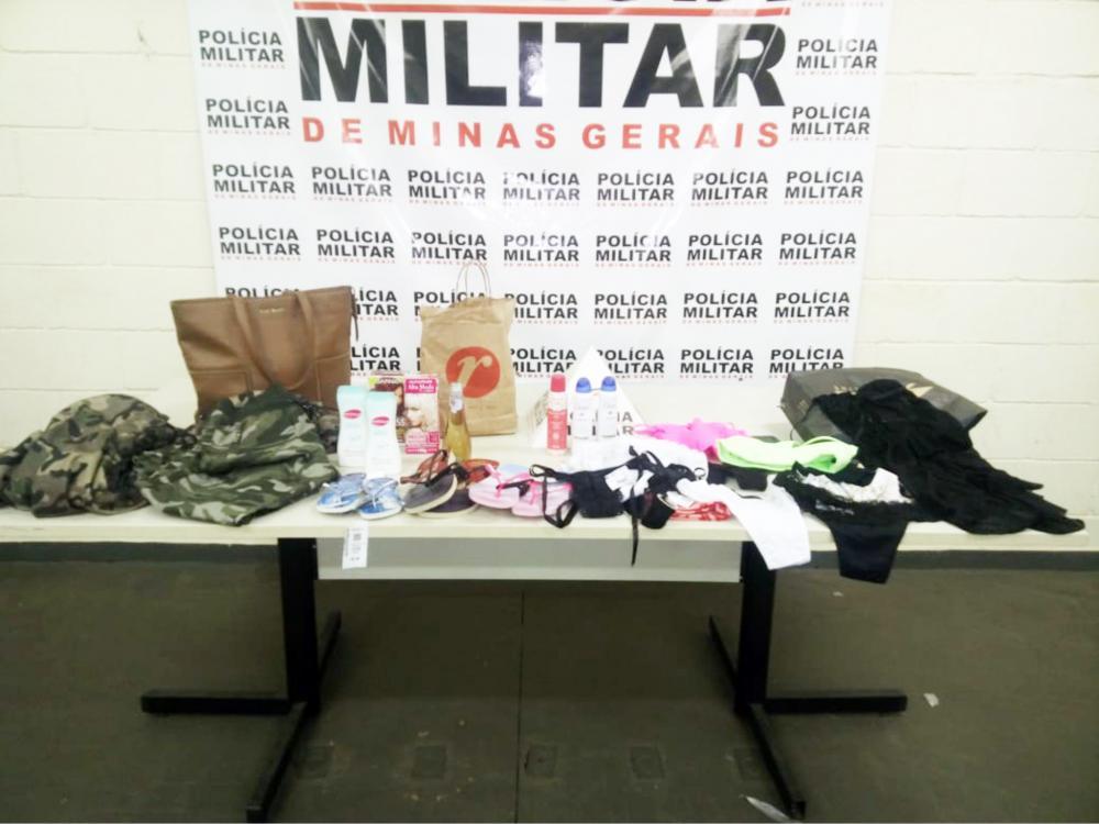Materiais subtraídos foram encontrados com a acusada - Foto: Juliano Carlos