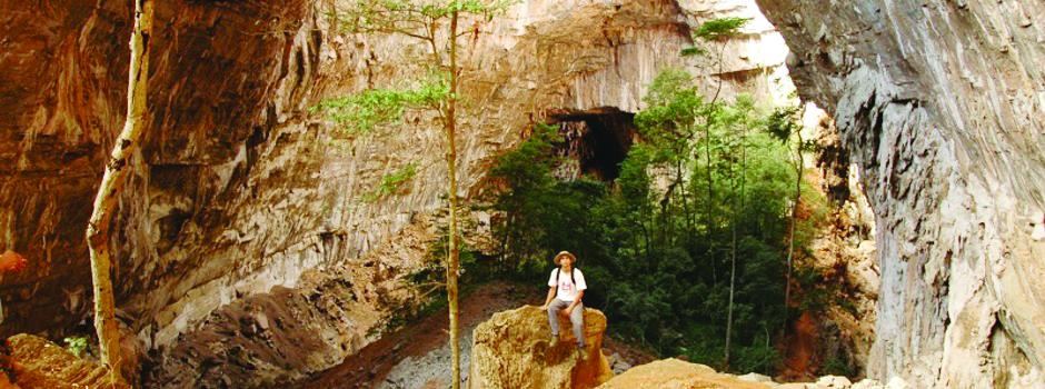 Parque Nacional do Peruaçu, em Januária, Minas Gerais