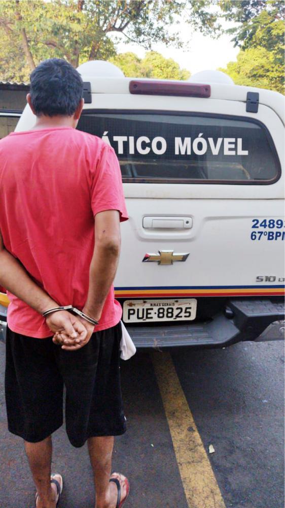 Acusado foi preso no Parque dos Girassóis - Foto: Juliano Carlos