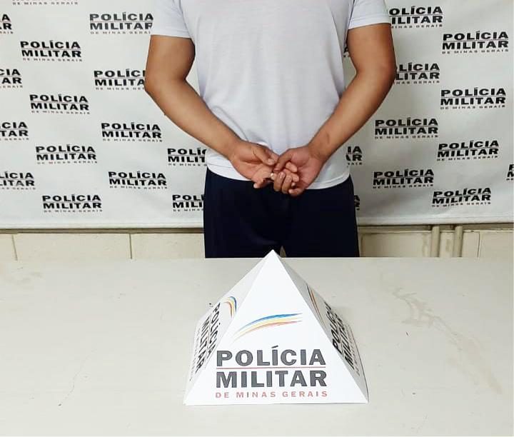 Homem foi preso após ser denunciado pela irmã - Foto: Juliano Carlos