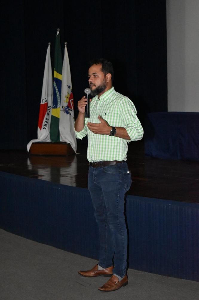 O presidente da Companhia, jornalista Denis Silva, ressalta a importância da Lei para evitar a venda de informações pessoais - Foto: Marco Aurélio/PMU
