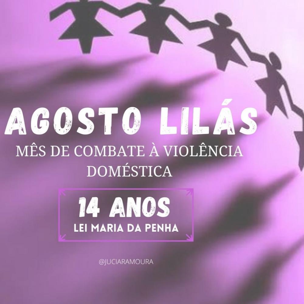 Um convite à reflexão pelo fim da violência contra a mulher.