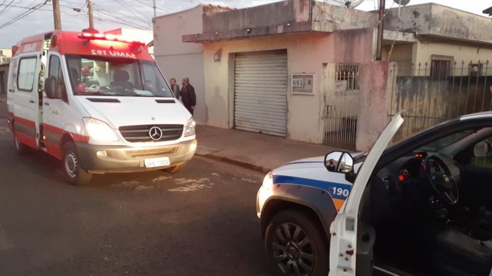 Pedro Brasileiro foi socorrido pelo Samu após o crime - Foto: Juliano Carlos