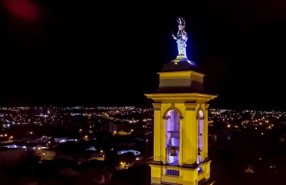 """Em Uberaba e Romaria (Água Suja) as homenagens a Nossa Senhora d'Abadia, foram adaptadas à realidade do momento, com os devotos e romeiros, em casa, """"on-line"""""""