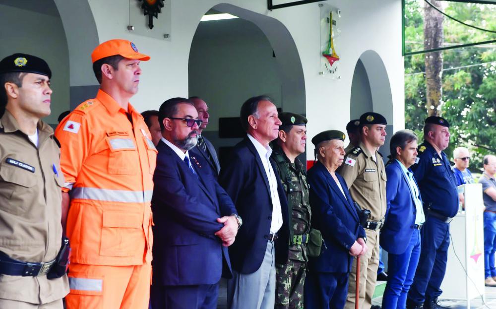 Prefeito Paulo Piau, em seu discurso, enalteceu a importância das famílias ali presentes