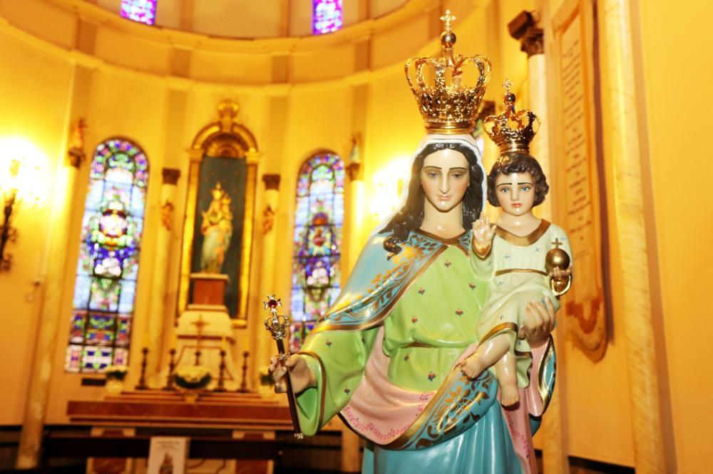 Para louvar a padroeira de Uberaba, Nossa Senhora D'Abadia, comemorado hoje, serão celebradas duas missas, às 6h e 15h - Foto: L. Adolfo/UFTM