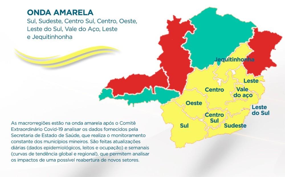 Atividades culturais e parques estaduais terão protocolo de reabertura na onda amarela do Minas Consciente