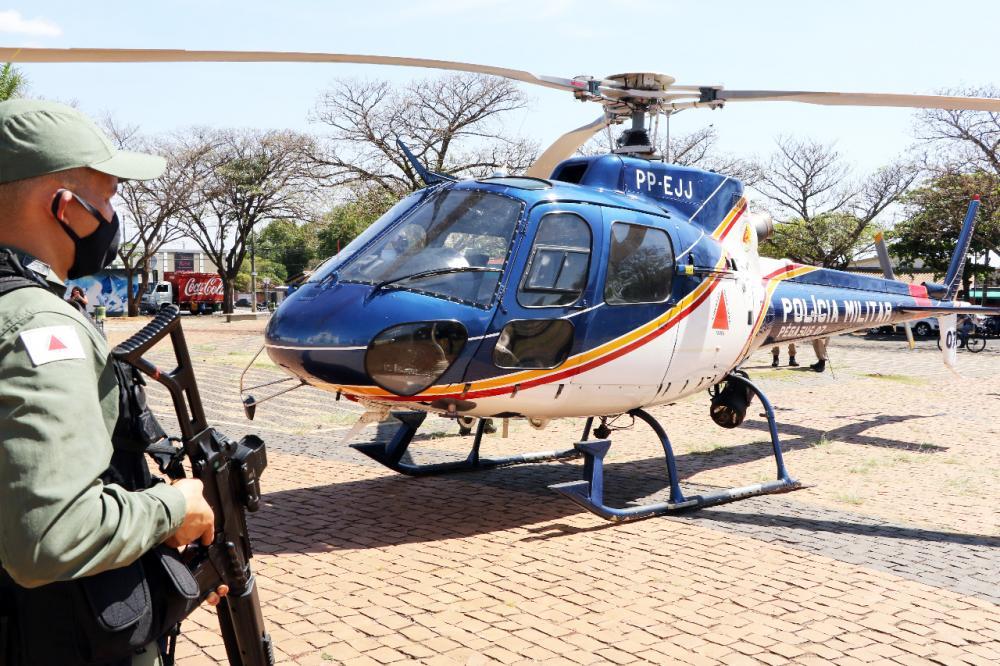 Operação foi lançada na tarde de ontem - Foto: Sérgio Teixeira /PMMG