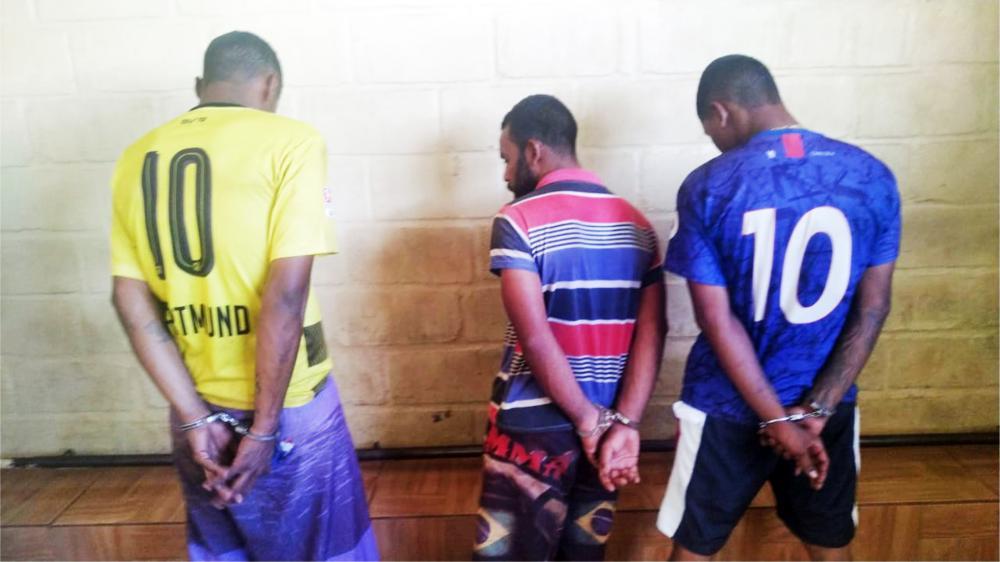 """Um dos acusados se passou por """"vítima"""" no local do crime - Foto: Juliano Carlos"""