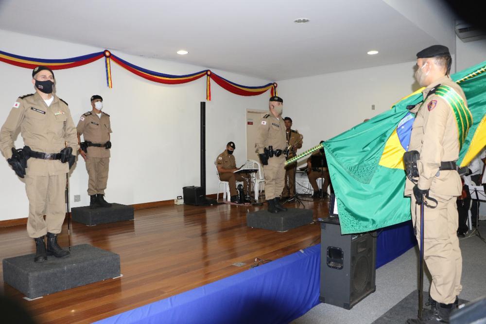Coronel Juliano Fábio Lemos Dias fica no lugar do coronel Robson Garrido de Paiva Silva, que ficou oito meses à frente da função - Foto: Sérgio Teixeira/PMMG