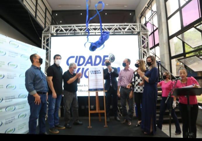 O início das operações do Cidade Vigiada foi inaugurado oficialmente ontem - Foto: Divulgação/PMU