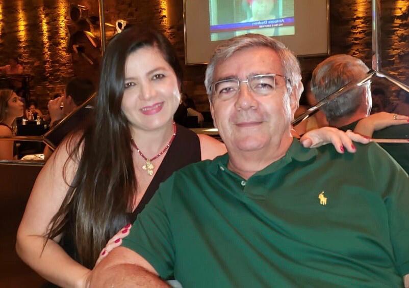 Samya e o pecuarista Antônio Abílio Marques Cordeiro, (leia-se Fazenda Terras de Kubera), ele foi o homenageado do dia 7 de outubro, pelo aniversário, família paraense conquistada por Uberaba