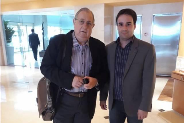 Diretor do USC, Dr. Constantino Jorge Calapodopulos e o médico Dr. José Martins Juliano Eustáquio - Foto: Divulgação