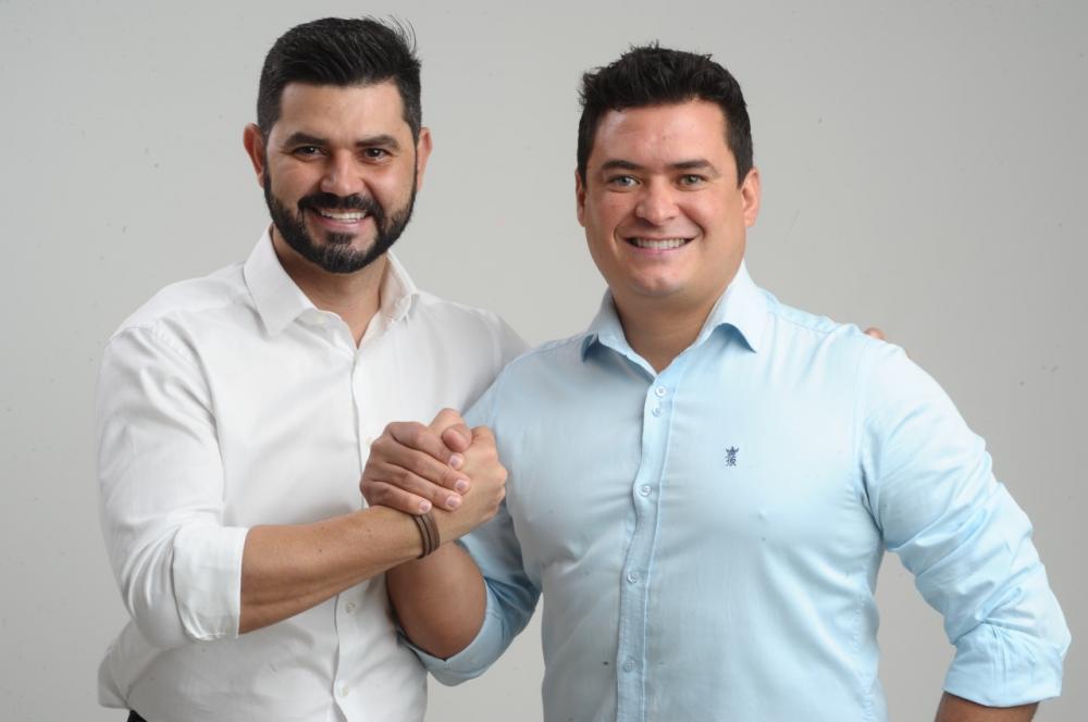Os candidatos Thiago Mariscal (PSC) e o Kaká Carneiro (Cid) foram diagnosticados com Covid-19 - Foto: Divulgação