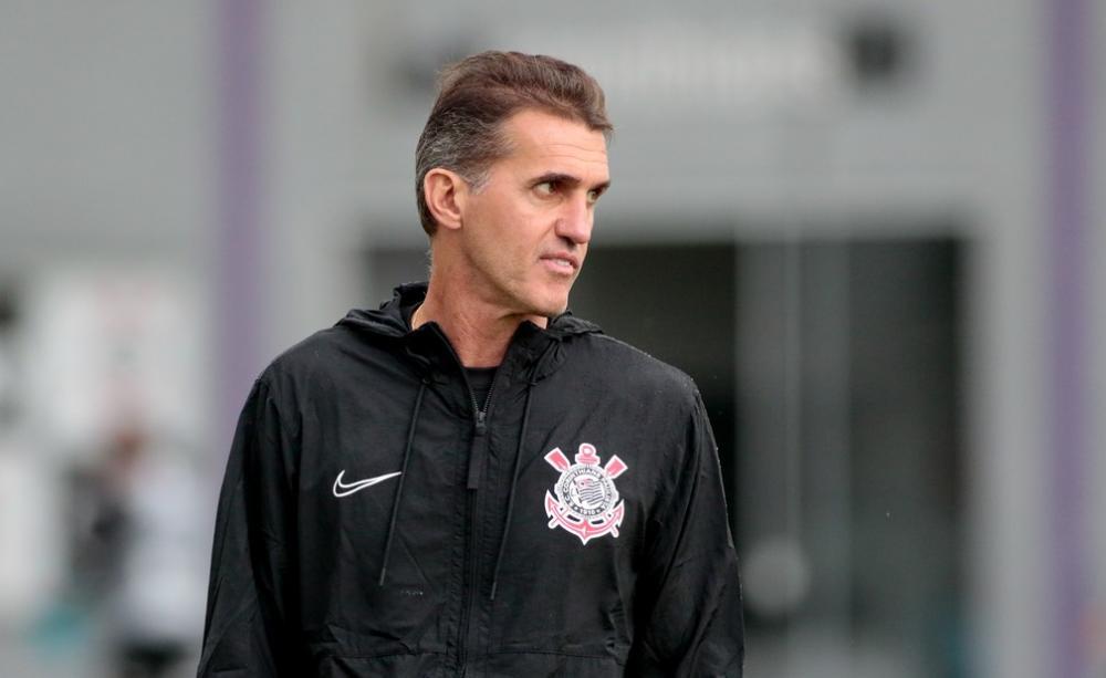 Vagner Mancini comandando treinamento no Corinthians - Foto: Rodrigo Coca/Ag.Corinthians