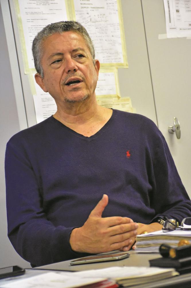 Coordenador da Comissão Intra-Hospitalar de Doação de Órgãos e Tecidos para Transplantes do HC-UFTM, Dr. Ilídio Antunes de Oliveira Júnior - Foto: Arquivo