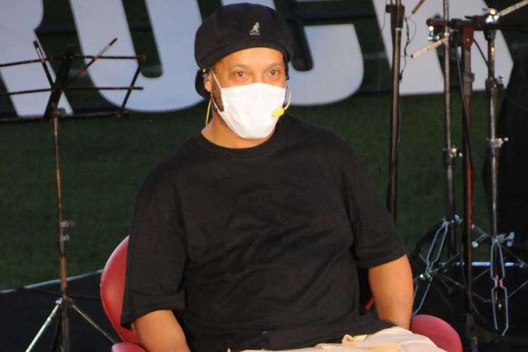Em Belo Horizonte para participar de evento Ronaldinho Gaúcho testa positivo para Covid-19 - Foto: Divulgação